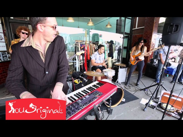 Amazing Funk Music - Dylan Elise with Hipstamatics