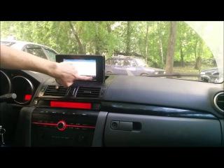 Моторизованный планшет Motorized tablet Mazda