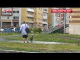 Ребенок «прятался» в луже от бабушки в Ростове-на-Дону. Поделитесь с друзьями!