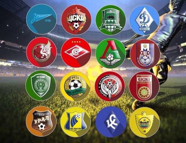 премьер лига россии по футболу 2014 2015 турнирная таблица