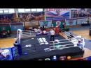исайкин Иван 1 бой чемпионат Сибири по Кикбоксингу 2016!