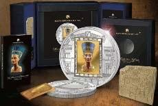 монете с нефертити