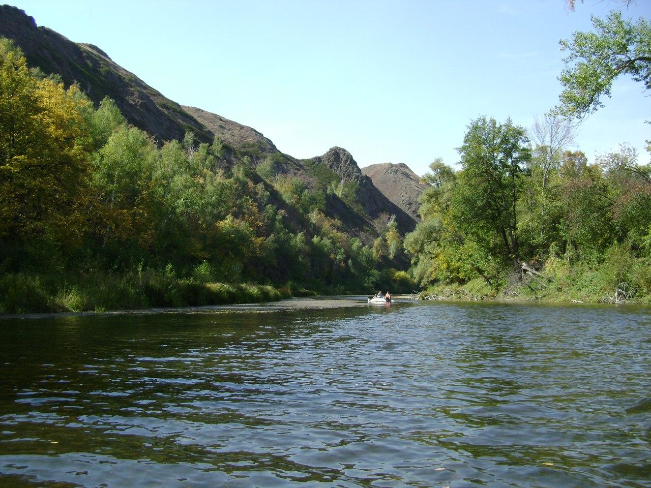 река Сакмара у д. Юмагузино 1-е
