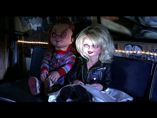 Невеста Чаки / Bride of Chucky (1998) / ужасы, мелодрама, комедия / MVO, R5