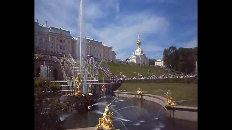 Фонтан Большой Каскад, Петергоф, 13 июня 2015 (2).