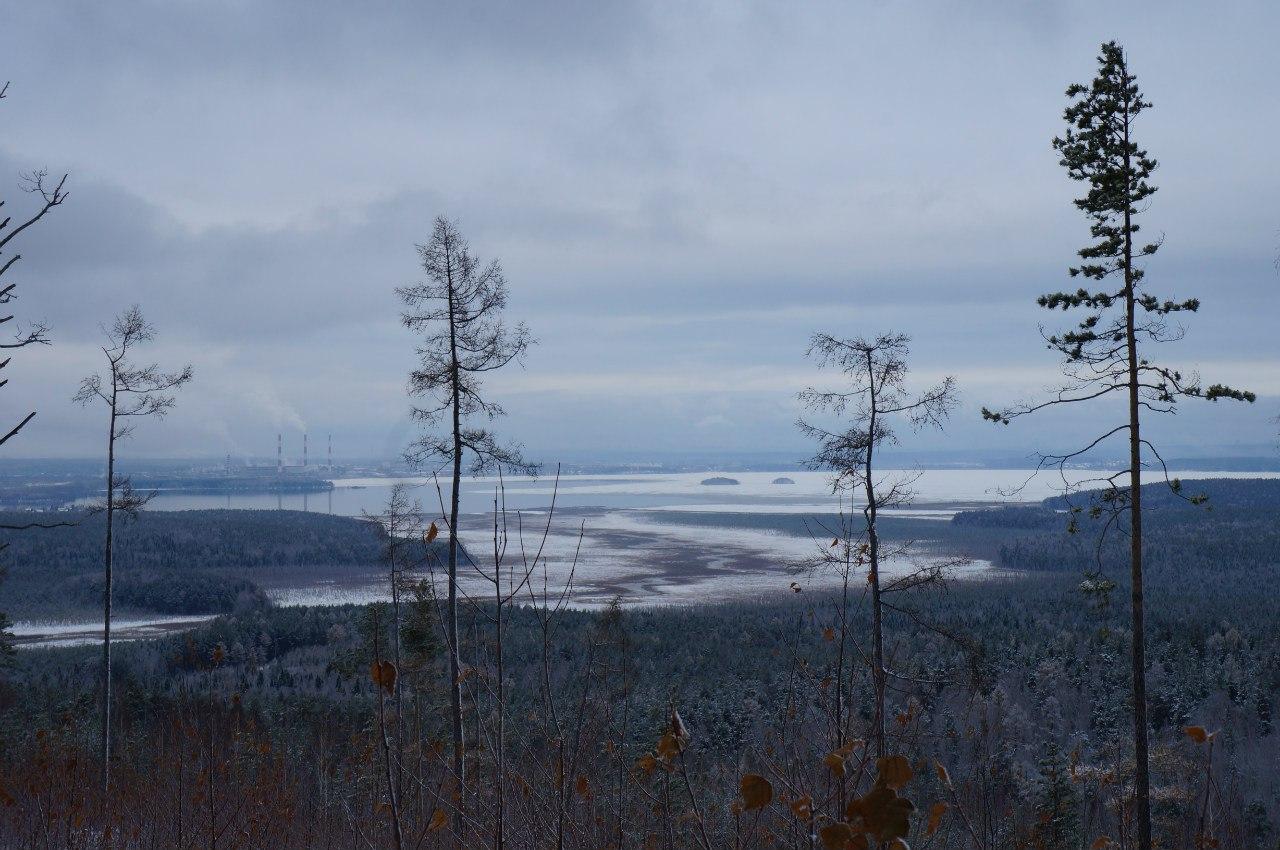Вид на устье реки Шитовской Исток