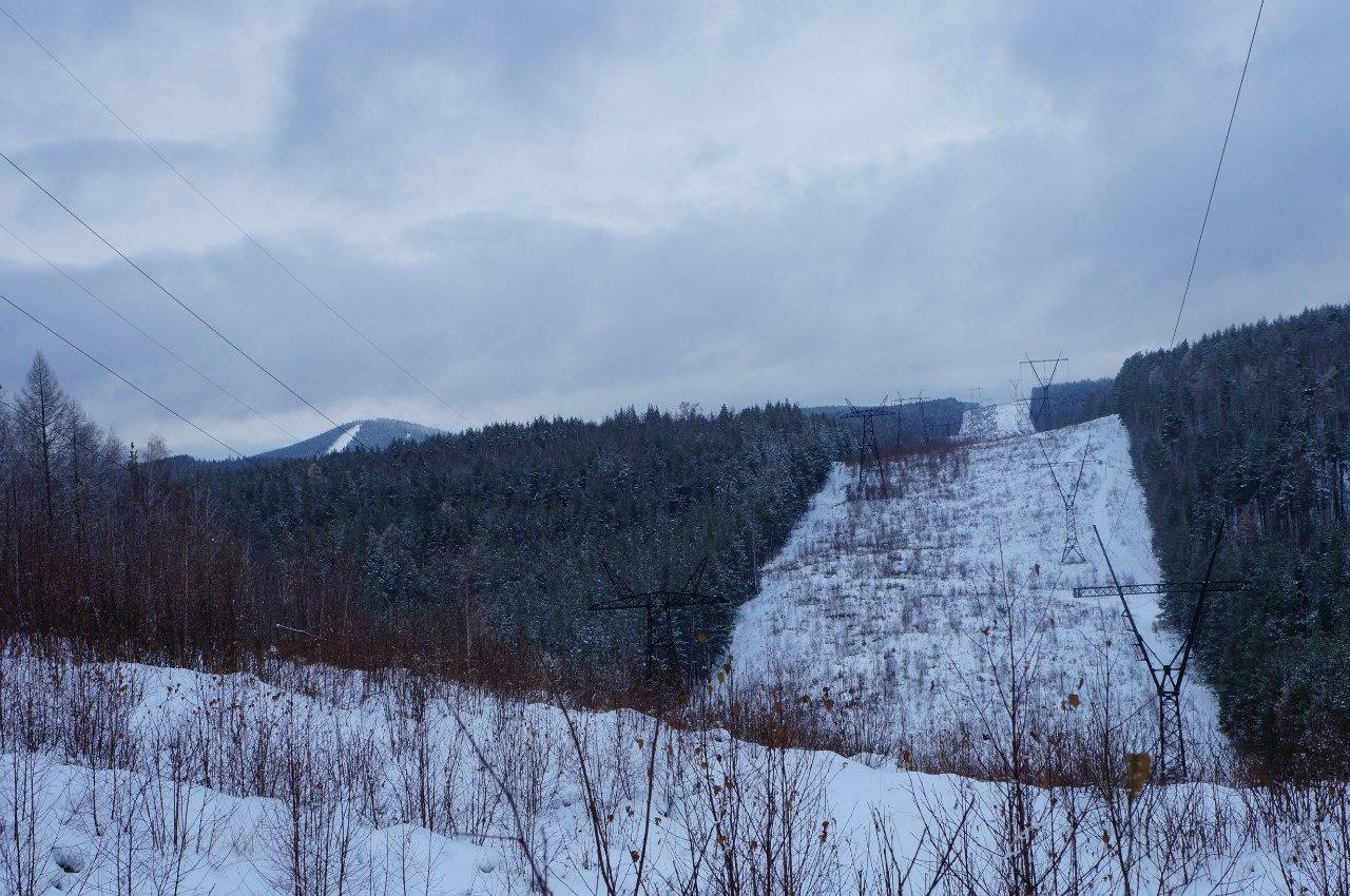 Вид с безымянной горы