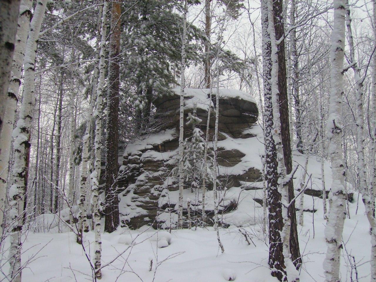 Скалы на Чащевитой