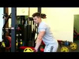 Тренировка мышц спины с Денисом Гусевым