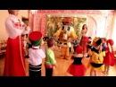 Детский сад Солнышко Красивый танец с самоваром