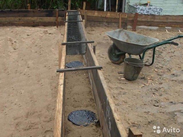 Столбчатый фундамент фундамент для дома