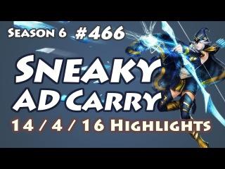 C9 Sneaky - Ashe vs Jhin - KR LOL SoloQ Highlights