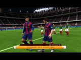 FC Barcelona - Athletic Bilbao 0-1 La Liga (27.12.2015) - FIFA 14