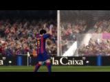 La Liga. FC Barcelona vs Villarreal CF 4-0 (30.12.2015) - FIFA14
