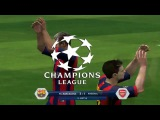 Champions League. FC Barcelona vs Arsenal London 3-1 (29.12.2015) - FIFA14