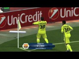 Champions League. Arsenal London vs FC Barcelona 2-3 (30.12.2015) - FIFA14