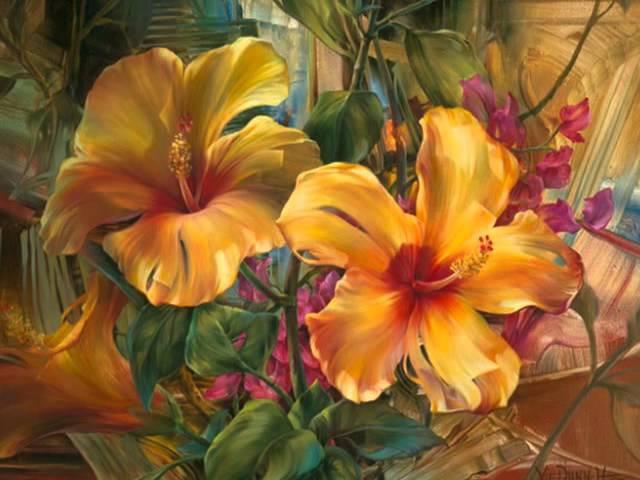 Цветы от Vie Dunn Harr