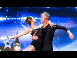 Shannon and Peter are a real life love story Auditions Week 4 Britains Got Talent 2016