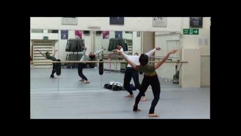 World Ballet Day: Akram Khan's Dust in rehearsal