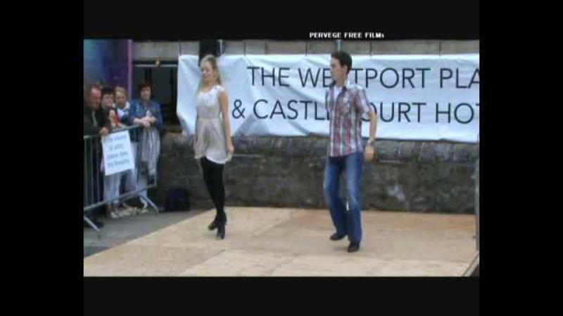 Sean Nos Dancing at Westport's Heritage Day 2010. Filmed by Pervege Free Films.