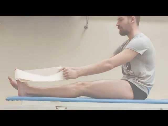 Лечебная гимнастика при «пяточной шпоре»