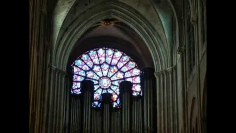 Экскурсия по собору Парижской Богоматери Париж часть 2 2013