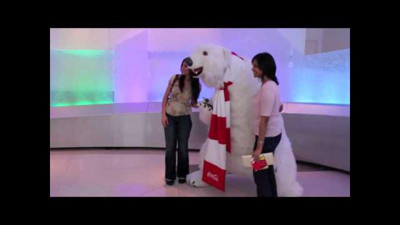 WORLD OF COCA-COLA POLAR BEAR MEET GREET