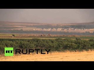 Турция: Турецкая армия фунтов ISIS боевиков в Сирии в приграничной атаки.