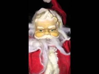 Adam Lambert on Snapchat 'Santa' (2 snaps) 19.12.2015 (w/ right proportion)