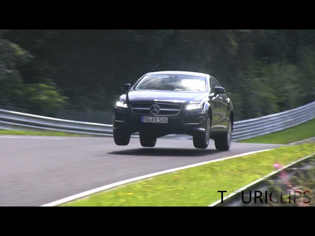 Flying prototypes on the Nürburgring!