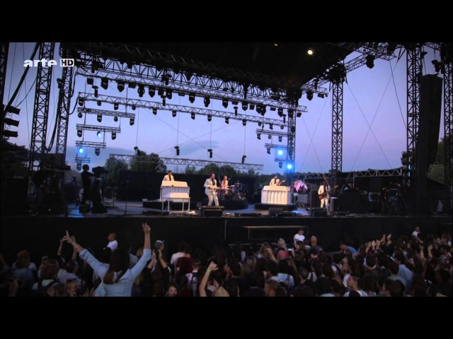 Metronomy - LIVE Pont du Gard 2014 France (Full Show HD)