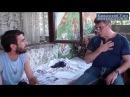 Борис Немцов дома у рабочего М Демерчяна подвергшегося пыткам в сочинской полиции 27 июня 2013