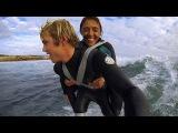 Duct Tape Surfing - Dream came true for Paraplegic Mum
