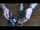 Правка ножа: О пастах, положение досточки (часть 3)