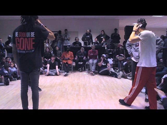 Battle RBH IV Finale Larry les Twins régi criminalz vs djylo sarcellite yanka YZ