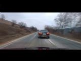 Зацепились на дороге / Crazy Race [Audi S6 V10 vs BMW M5 V8]
