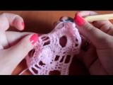 Вязание крючком: Треугольный мотив