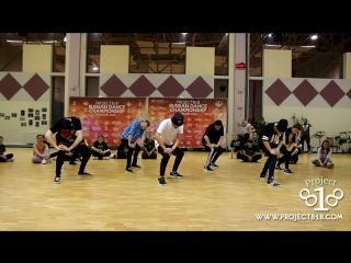 Melvin Timtim @ RDC15 Project818 Russian Dance Championship — 50 Cent, Just A Lil Bit