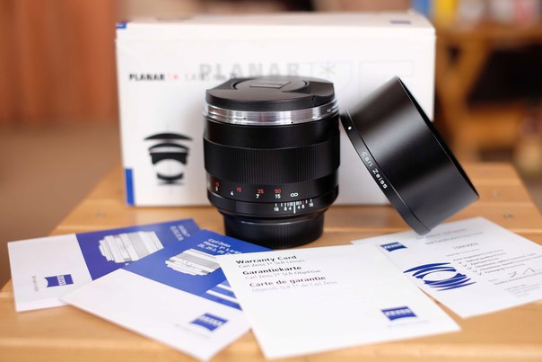 Ровно купить объектив Carl Zeiss PLANAR T* 85mm f/1.4 ZE для Canon цена
