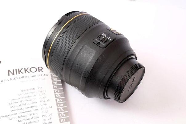 Купить Nikon 85mm f/1.4G AF-S Nikkor цена 1200$