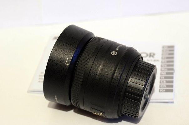 Купить Nikon DX 35mm f/1.8G AF-S Nikkor цена 3900грн