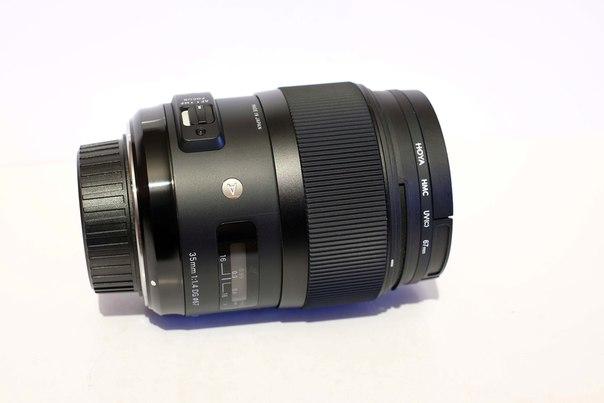 Купить Sigma 35mm f/1.4 DG HSM Art для Nikon цена 680$