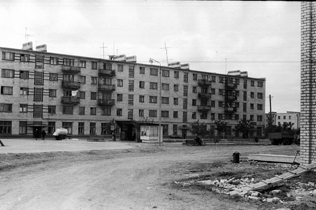 1 мкр дом №5. 1972 год.