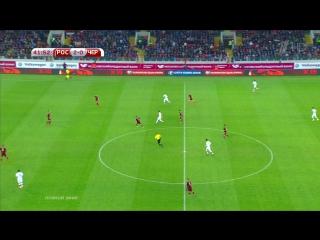 РОССИЯ - ЧЕРНОГОРИЯ 2:0 Отборочный матч ЧЕ 2016 Первый тайм