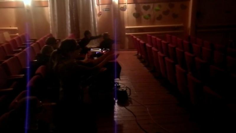 Самый первый показ РАССВЕТА в Самойловке!