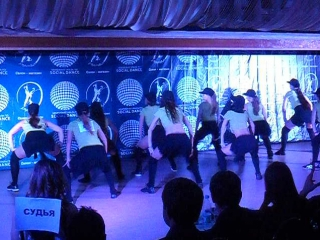 Реггетон SOCIAL DANCE 2015 Команда Адреналин