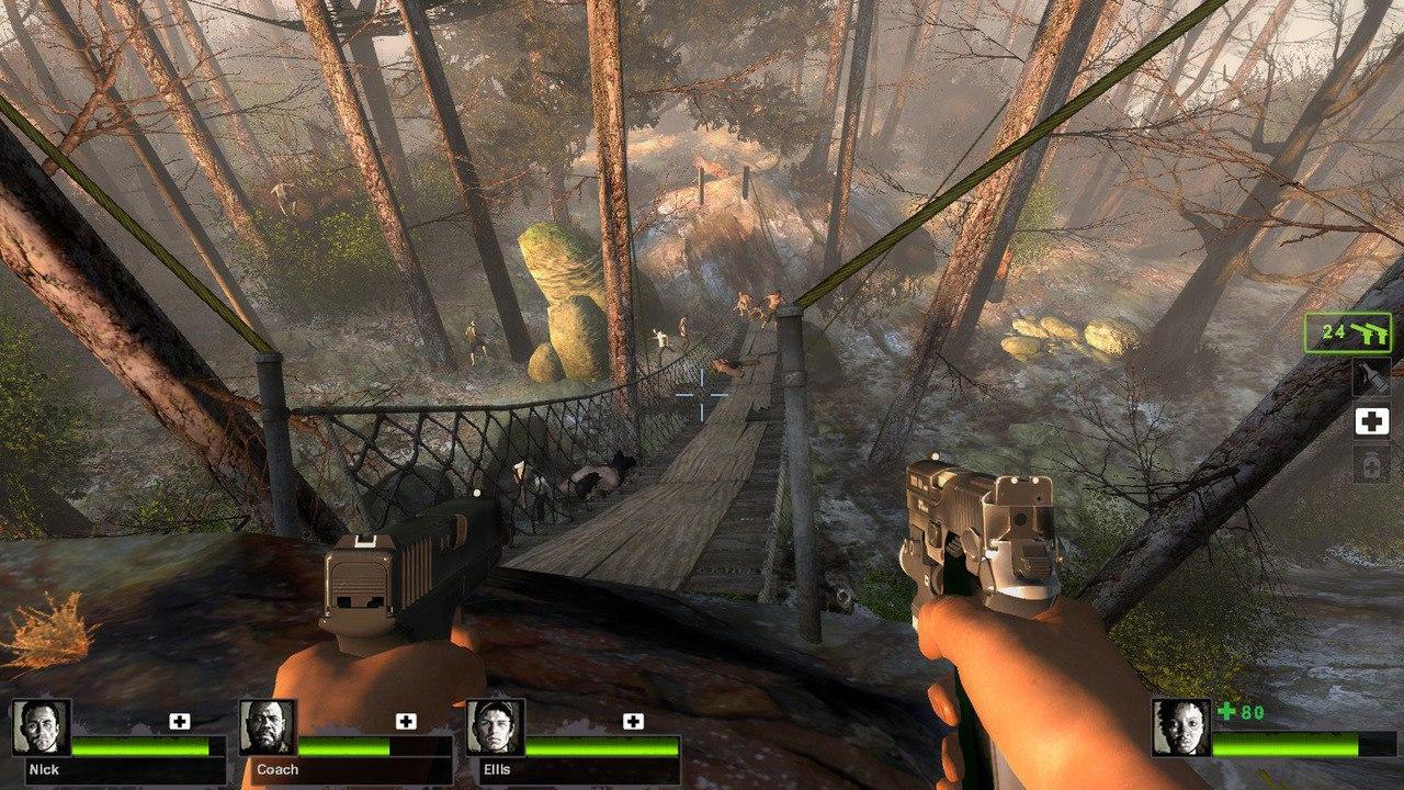 Left 4 Dead 2 [v 2.1.4.0] мультиплеер (2015) скачать торрент