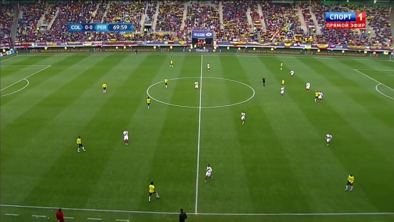 Copa America 2015 - Game 17 - Group C - Colombia vs Peru 2nd half - 720p 50fps