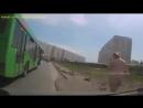 Голая девушка на улице г.Новосибирск
