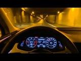 2015 2016 Audi Q7 3.0 TDI (272hp) Quattro Matrix Led Test Drive Night Driving Cruising part 3